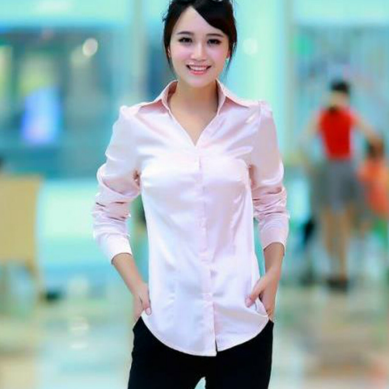 Silk Blouse Designs to Choose from