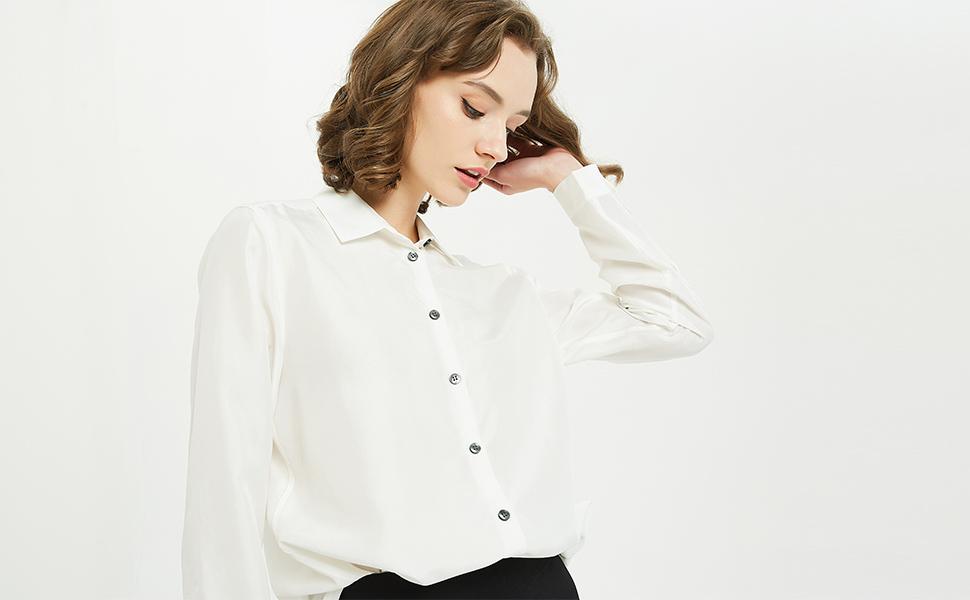 A Silk Blouse Or A Cotton Blouse